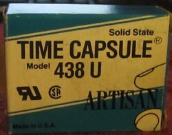 Artisan 438 U Time Capsule Solid State Relay Timer Relay 118c19 Brand New 438u