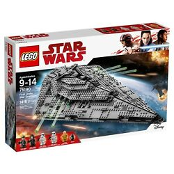 LEGO Star Wars First Order Star Destroyer 75190 The Last Jedi BRAND NEW SEALED