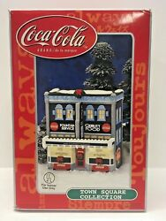 Coca Cola Town Square Collection Broad Street Cafe - Christmas Village Cafe