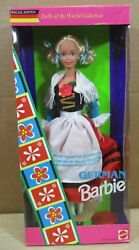 German Barbie Doll Of The World Collection Special Edition New Box Wears G1