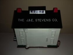 1995 Charles Reynolds J. And E. Stevens Foundry Mechanical Bank -limited Edition