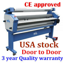Usa Upgrade 55 Full-auto Wide Format Cold Laminator Machine With Heat Assisted