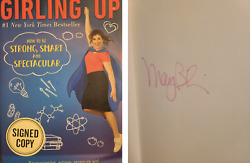 Big Bang Theory Mayim Bialik Md Signed Autograph Book Girling Up Jeopardy Host