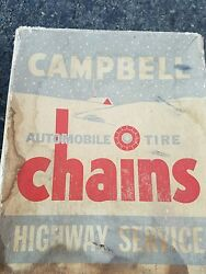Vintage Campbell Tire Chains