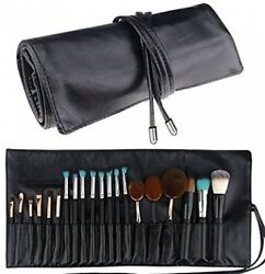 Samtour Makeup Brush Rolling Case Pouch Holder Cosmetic Bag Organizer Travel 18
