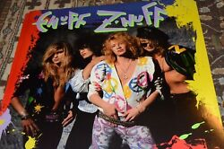 Chip Znuff Signed Autographed Enuff Znuff Rock Band Poster 1989
