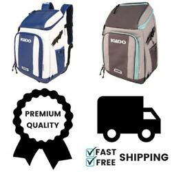 Igloo Insulated Backpack Marine Cooler for Hiking Camping Trip - Multiple Color