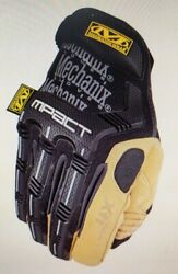 Mechanix Wear Material4x M-pact Gloves 1pair Black And Tan- Large, Xl Or Xxl