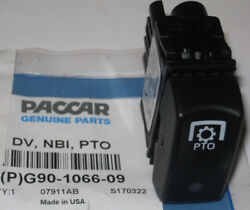 New Oem Paccar Kenworth Pto Air / Electric Valve Control Switch G90-1066-09
