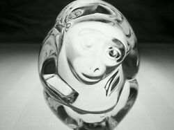 Steuben Glass Monkey Hand Cooler | Signed Crystal Paperweight | Brand New