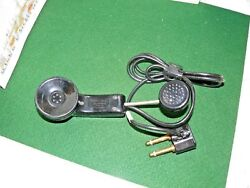 Vintage Audiosears Switchboard Operator Telephone Headset-Handset TYPE 53