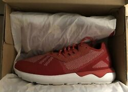 Adidas Tubular Runner Weave Red Size 11.5 Perfect Condition