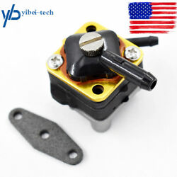 New Fuel Pump For Johnson Evinrude Outboard 6hp 8hp 395091 397839 391638 18-7350