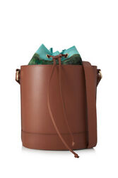 Montunas Bucket Bag With Montunas Pouch  (Brown; Vegetable Tanned Leather)