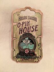 Dlr Haunted Mansion Oand039pin House 40 Years Grim Grinning Yearsandnbsple 999 Disney - New