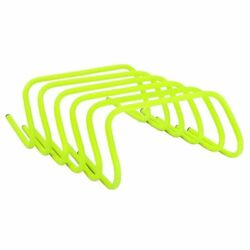 Running Rugby Pro Training Agility Hurdles Speed Jump Plyometric 6pcs 9inches