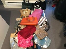 Neiman Marcus Large Tote Bag Purse Case Travel Leopard Cosmetic HUGE set lot