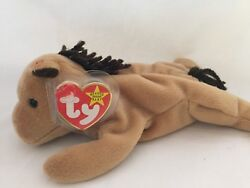 """Looking For A Lovely Home For Ty Beanie Baby """"derby""""."""