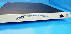 Afs Accu-fab Systems 1596-48-es I/o Chassis Eco Snow Systems Versaclean 1100
