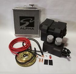 Integra Red 0 Gauge H Series Battery Box Relocation Kit W/ New Ground Wires