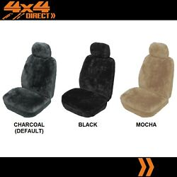 Single 27mm Sheepskin All Over Car Seat Cover For Mitsubishi Icar