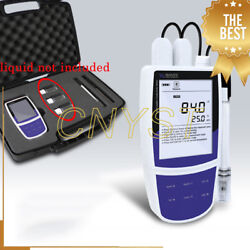 Professional Conductivity Meter Tester Gauge With Tds Salinity Resistivity Modes