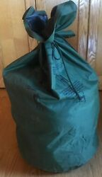 Us Military Surplus Army Waterproof Wet Weather Laundry Clothing Bag Sack Vgc