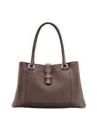 Loro Piana Bellevue Fine Leather Tote Bag Brown Retired Design