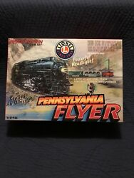 2002 Lionel Pennsylvania Flyer Train Set Used-good Cond. Orig Box, 4 Cars+eng