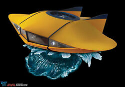 Voyage To The Bottom Of The Sea 132 Diecast Flying Sub With Lights And Sounds Fs1