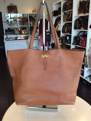 Salvatore Ferragamo caramel Leather Tote Bag Shop N Pick Up  Our LA Store