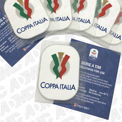 Coppa Italia 2018-19 Toppa, Sleeve Patches, Official Stilscreen Patch