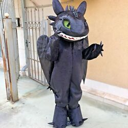 High quality mascot  Toothless dragon costume  Dragon Toothless mascot