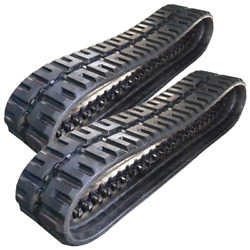 Two C-lug Rubber Tracks Fits Cat 259d 320x86x53 13 Wide