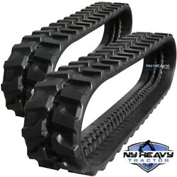 Two Rubber Tracks Fits Ditch Witch Jt 2321 300x52.5x90 Free Shipping Jt2321