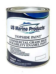 Us Marine Products - Topside Boat Paint - Navy Quart
