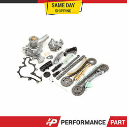 Timing Chain Kit Water Oil Pump For 97-02 Mercury Mazda Ford 4.0 245cid Sohc E