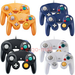 2pack Wired Ngc Controller Gamepad For Nintendo Gamecube And Wii U Console Switch