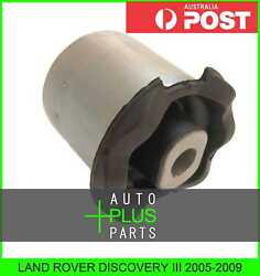Fits LAND ROVER DISCOVERY III Rubber Suspension Bush Front Lower Arm (Hydro)