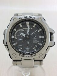 CASIO solar analog SS radio G-SHOCK MTG MTG-G1000  #1CB0 VERY GOOD Wristwatch