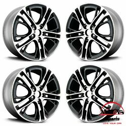 Set Of 4 Bmw X3 X4 2011-2018 20 Factory Oem Staggered Wheels Rims