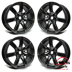 Set Of 4 Nissan Gt-r 2009 2010 2011 20 Factory Original Staggered Wheels Rims