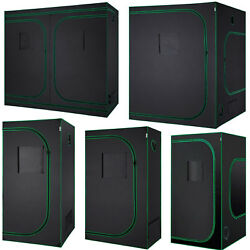 MELONFARM 5 Sizes Mylar Waterproof Hydroponic Grow Tent With Removable....