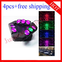 912w Rgbw 4 In 1 Led Beam Moving Head Dj Disco Stage Light 4pcs Free Shipping