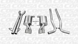 Corsa Cat-back Exhaust System - Sport Sound 14540 For 2005-2009 Audi S4 B7 4.2l