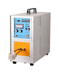 25KW 30-80KHz High Frequency Induction Heater Furnace Melting Heat 380V 2 in 1