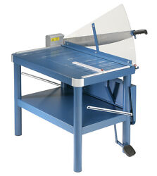 Dahle 580 Premium Large Format Guillotine Paper Cutter 32and039 Cut Length
