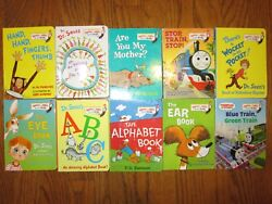 Lot of 10 Bright and Early Board Books Dr. Seuss PD Eastman & More