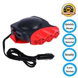 Portable Car Heater Defrost Defog 30 Seconds Quickly 12V24V 150W Auto 3-Outlet