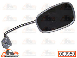 Mirror Right New Stainless Steel Chrome Does Rust Pitch Citroen 2cv Dyane -950